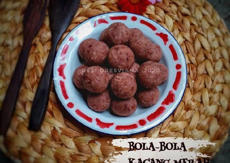 Resep: Bola Bola Kacang Merah(isian bakpao/roti/onde-onde) sedap