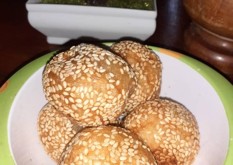 Resep: Onde-onde kacang hijau enak