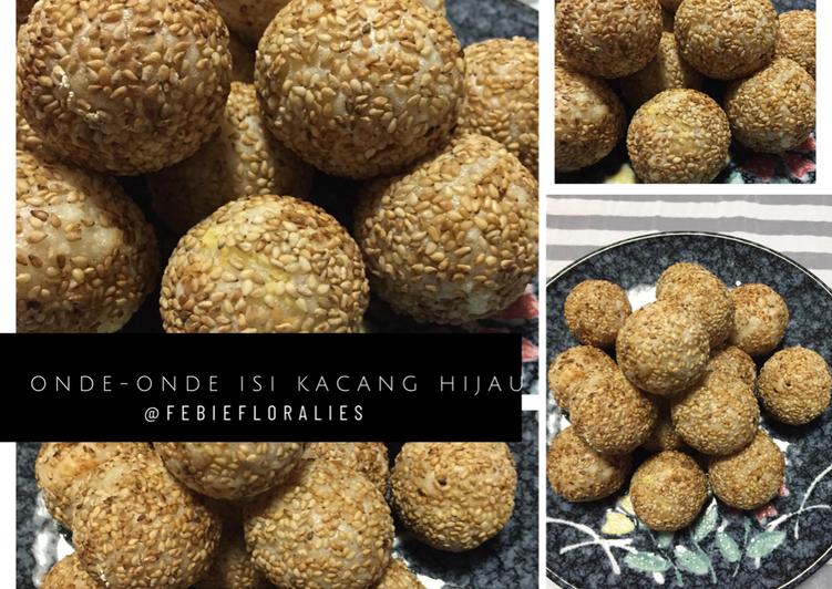 Resep: Onde-onde Panggang isi Kacang Hijau, Snack Sehat Balita