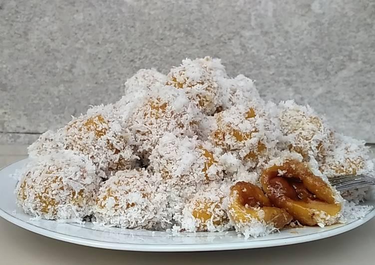 Resep memasak Onde-onde / Klepon Labu Kuning ala resto