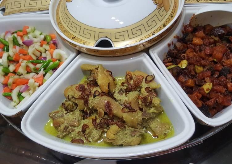 Resep mengolah Opor ayam lebaran lezat