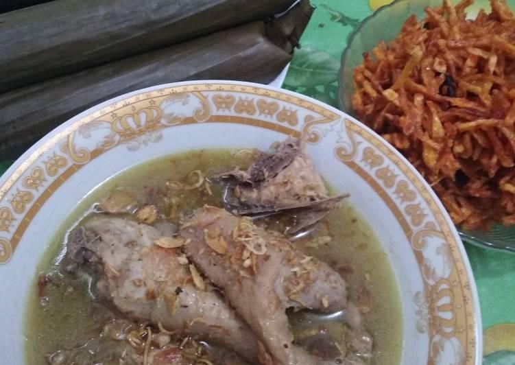 Resep: Opor Ayam Kampung yang bikin ketagihan