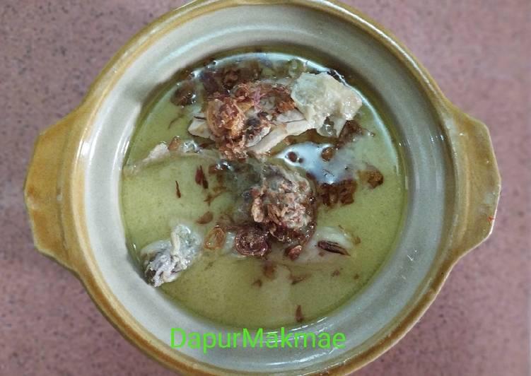 Resep: Opor ayam santan putih yang bikin ketagihan
