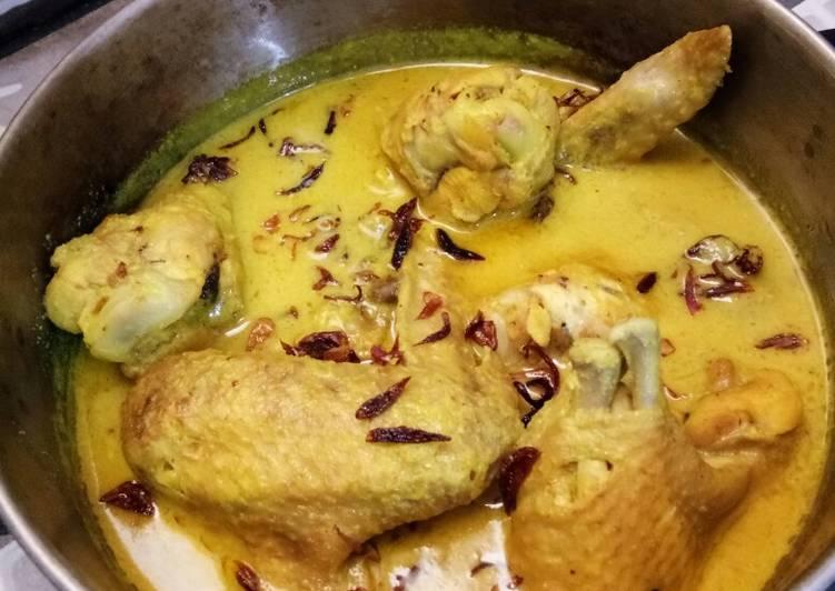 Resep: Opor ayam sederhana sedap