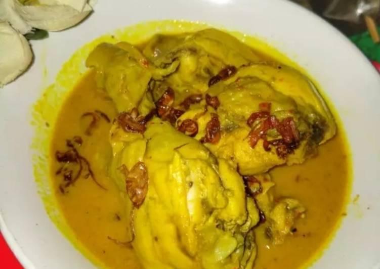 Resep memasak Opor ayam rumahan