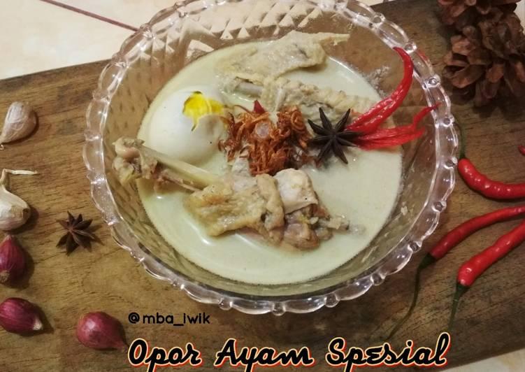 Cara Mudah memasak Opor Ayam Spesial yang menggugah selera