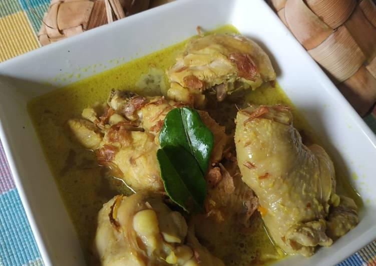 Resep mengolah Opor Ayam yang menggugah selera