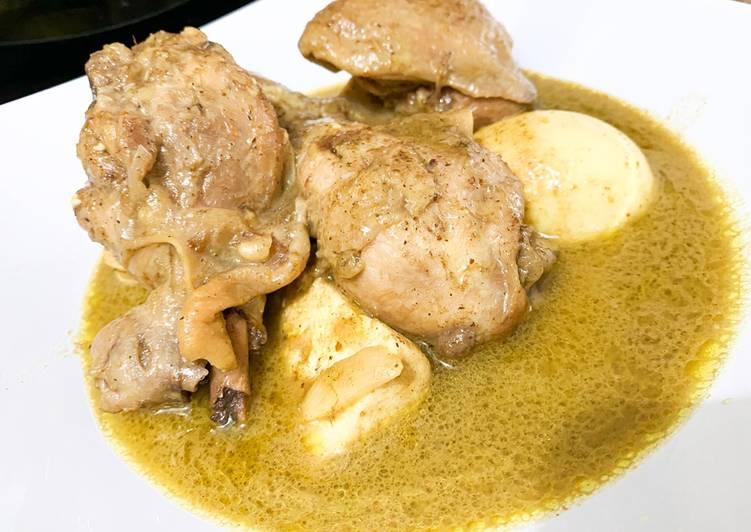 Cara memasak Opor Ayam Bumbu Instant Indofood ala resto