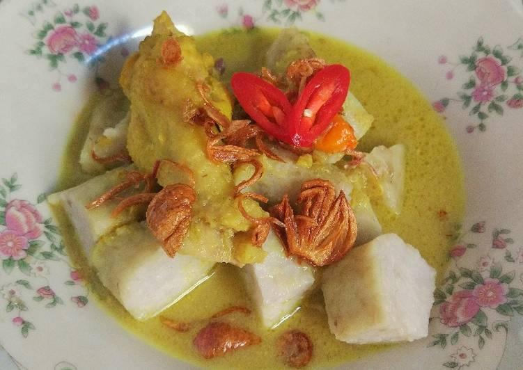 Cara memasak Opor ayam kampung (tanpa santan) lezat
