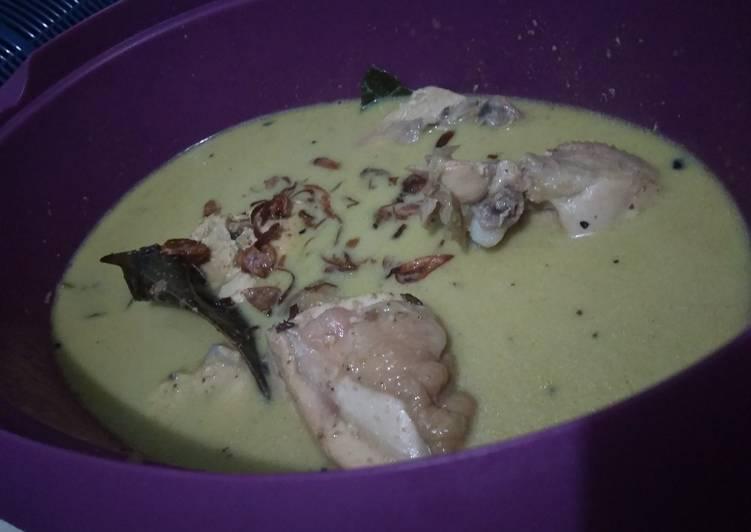 Cara Mudah memasak Opor ayam ala resto