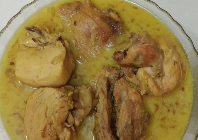 Resep: Opor ayam edisi lebaran lezat