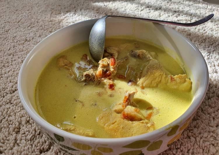Resep membuat Opor Ayam Kuah Kuning yang menggugah selera