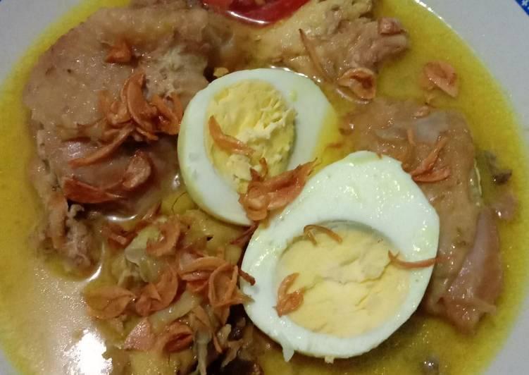 Resep: Opor ayam telor lezat