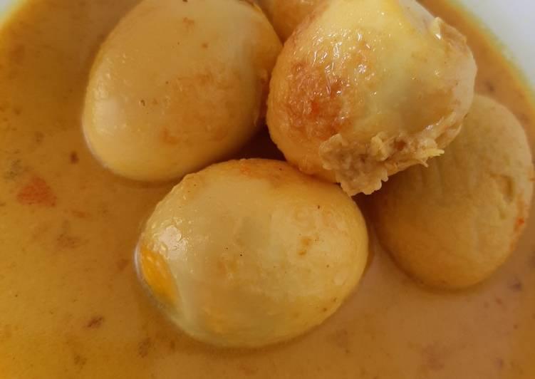 Cara memasak Opor Telur anti ribet Fiber Creme enak