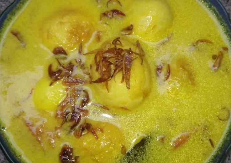 Resep: Opor telur yang bikin ketagihan