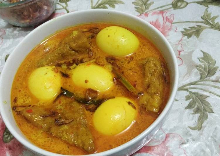 Resep: Opor Telur Tahu Padang yang menggugah selera