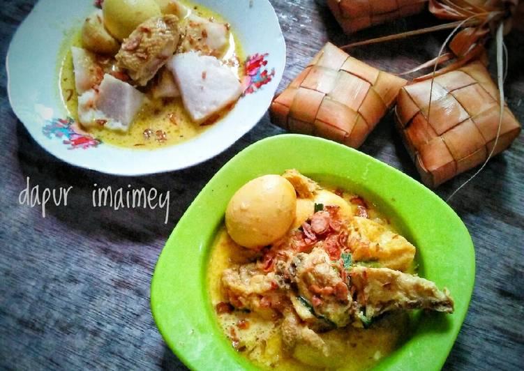 Cara memasak Opor ayam dan telur (ayam potong) enak