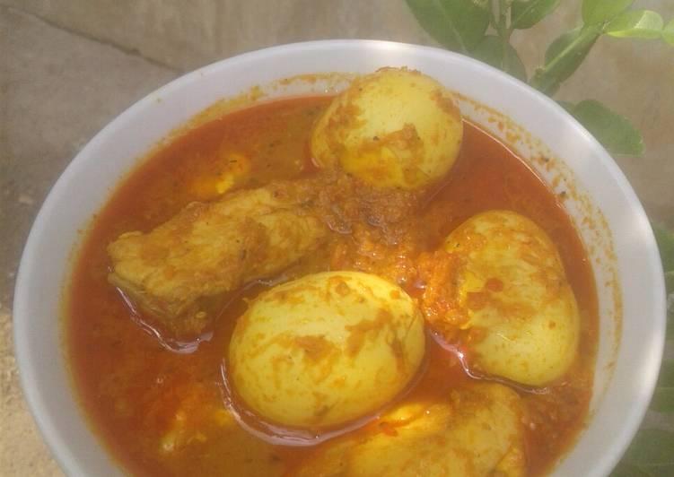 Resep: Opor Ayam Telur (tanpa santan) sedap