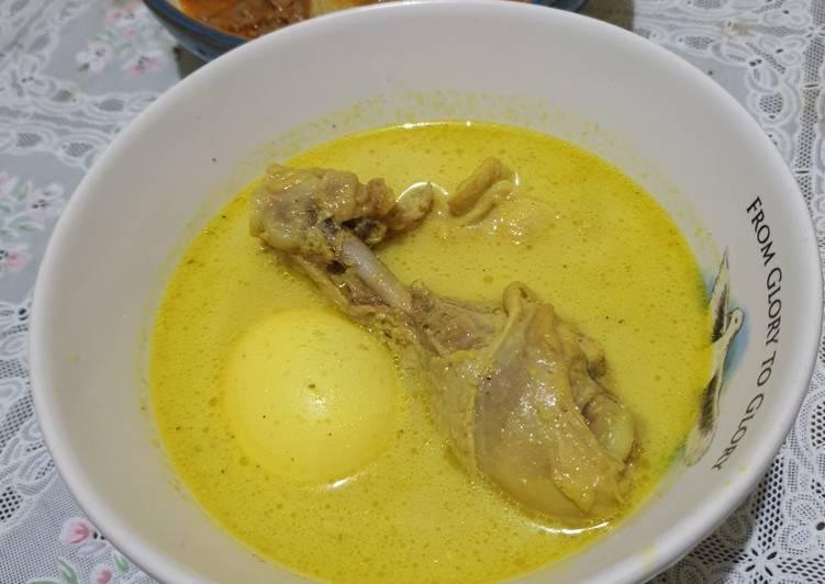 Resep: Opor Ayam dan Telur sedap
