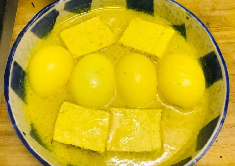 Opor Kuning Tahu Telur