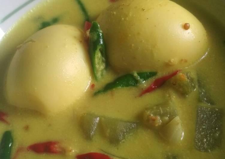 Resep: Opor Telur Labu Siam yang menggugah selera