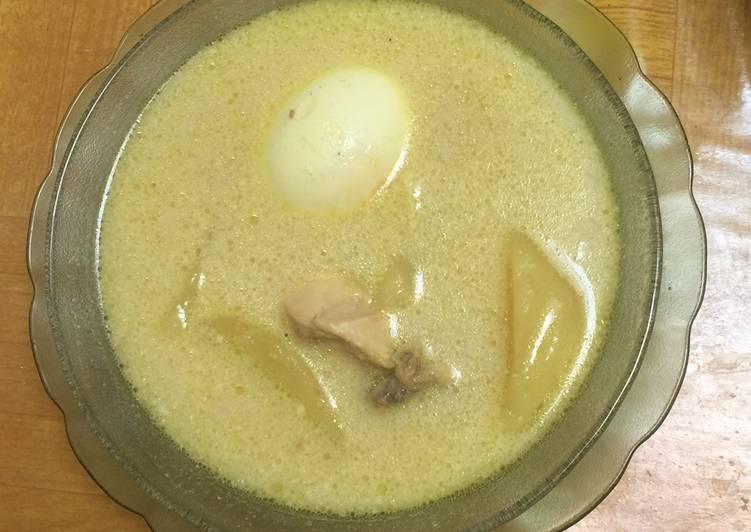 Cara memasak Opor ayam,kentang & telur lezat