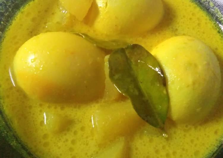 Resep: Opor telur&kentang sedap
