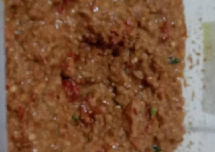 Resep: Sambel pecel blora lezat