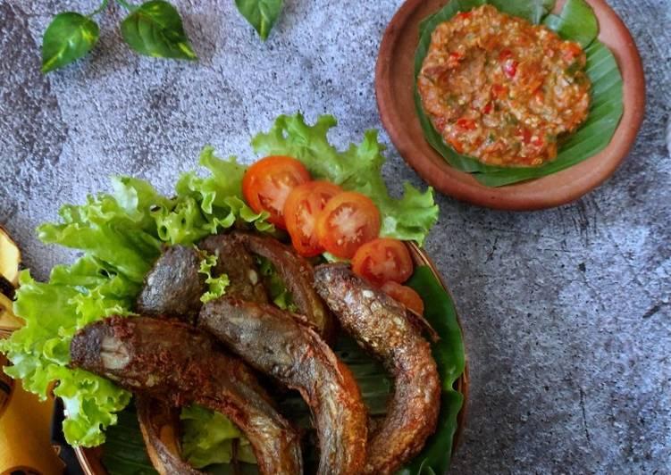 Cara memasak Pecel lele ala lamongan