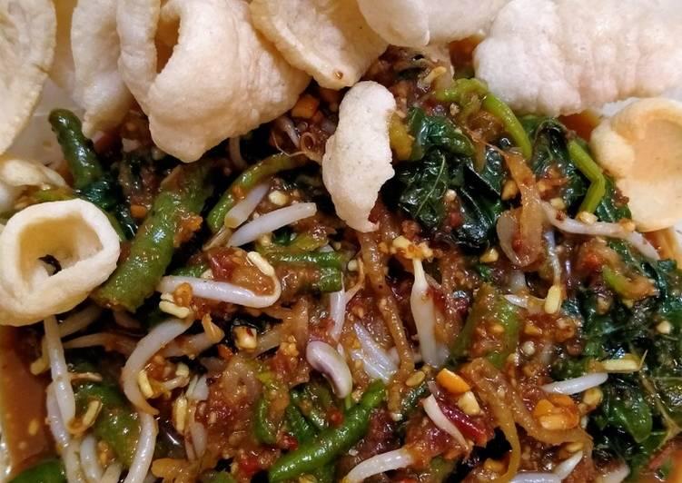 Resep: Pecel sayur wong ndeso enak