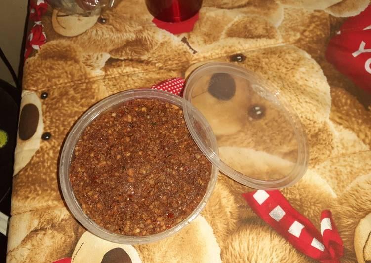 Resep: Sambel pecel madiun ala mami lezat