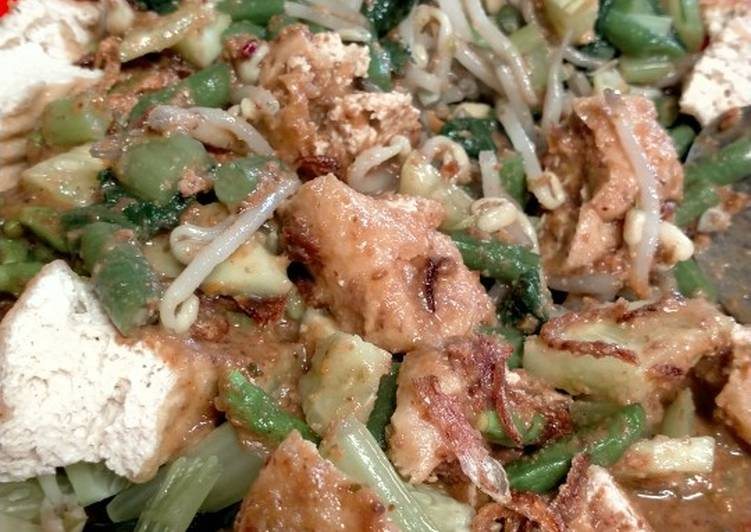 Resep: Pecel sayur ala resto