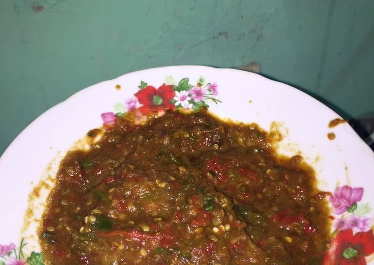 Resep memasak Sambel ala2 pecel lele