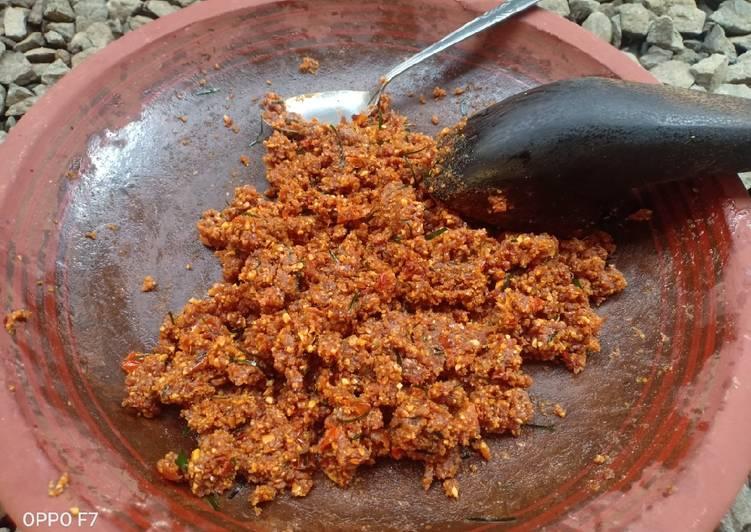 Cara Mudah memasak Bumbu pecel home made lezat