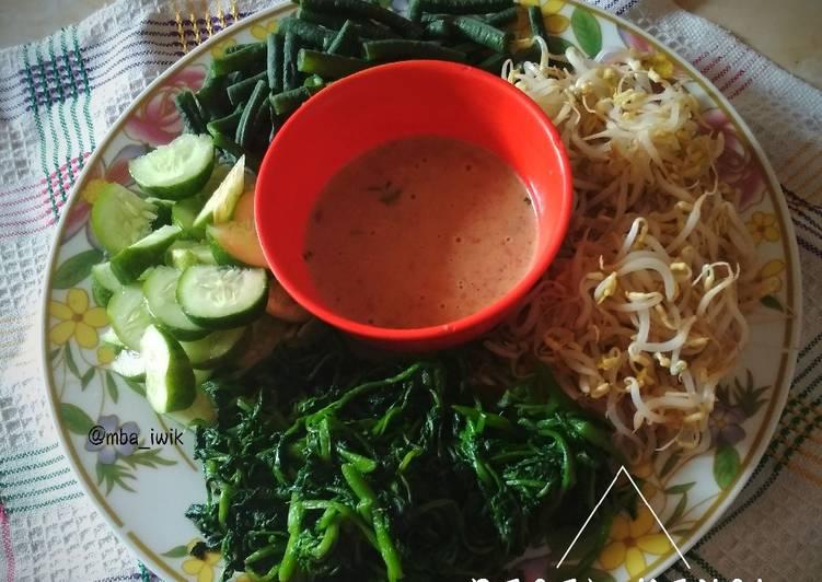 Resep: Pecel Kenci (selada air) Khas Temanggung enak