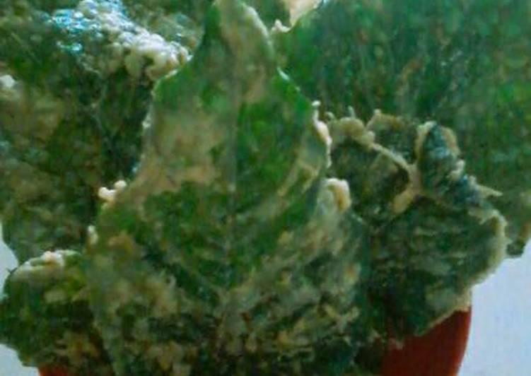 Resep: Rempeyek daun bayam yang menggugah selera