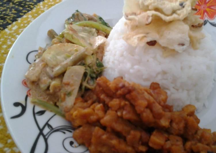 Resep: Nasi gaul yang menggugah selera