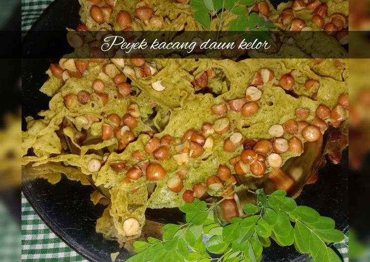 Resep: Peyek kacang daun kelor ala resto