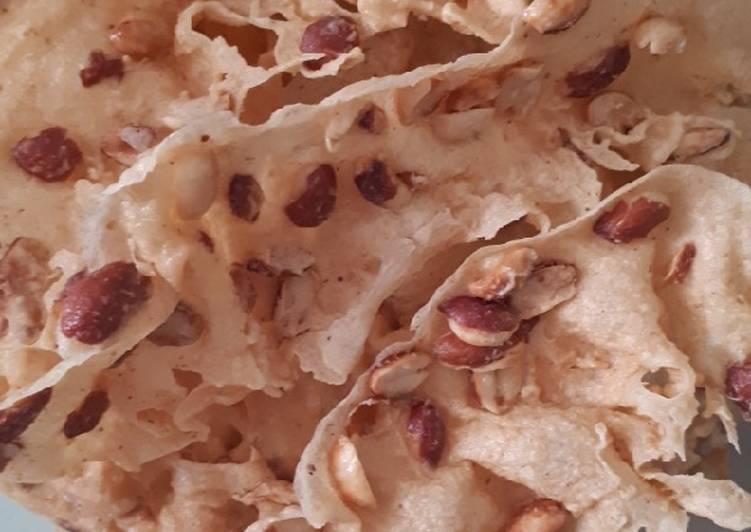 Resep membuat Rempeyek kacang yang menggugah selera