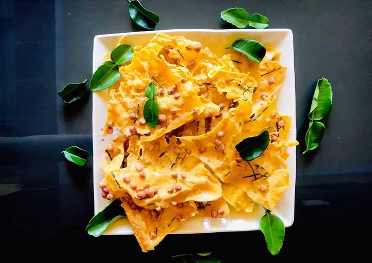 Resep: Rempeyek kacang daun jeruk yang menggugah selera