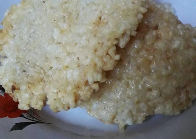 Cara Mudah membuat Rengginang kw dari nasi sisa lezat