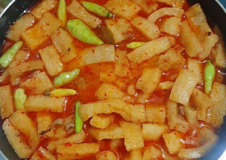 Resep: Sayur krecek kacang tolo / Sambal goreng krecek tolo sedap