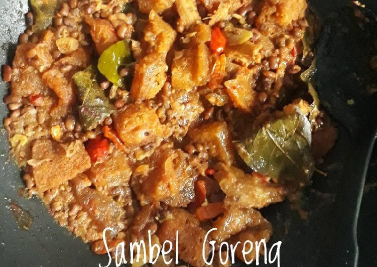 Resep: #15. Sambel Goreng Krecek Kacang Beras/Tolo yang bikin ketagihan