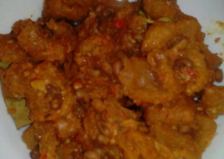 Resep: Sambel goreng krecek kacang tolo ala resto