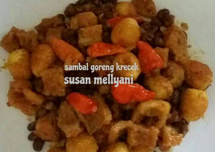 Resep mengolah Sambal goreng krecek tolo yang bikin ketagihan