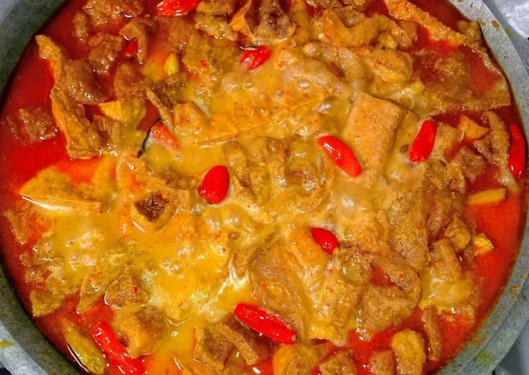 Resep: Sambel goreng krecek lezat