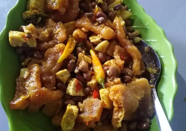 Resep: #3 Sambel goreng krecek..nyemek ☺️ yang menggugah selera