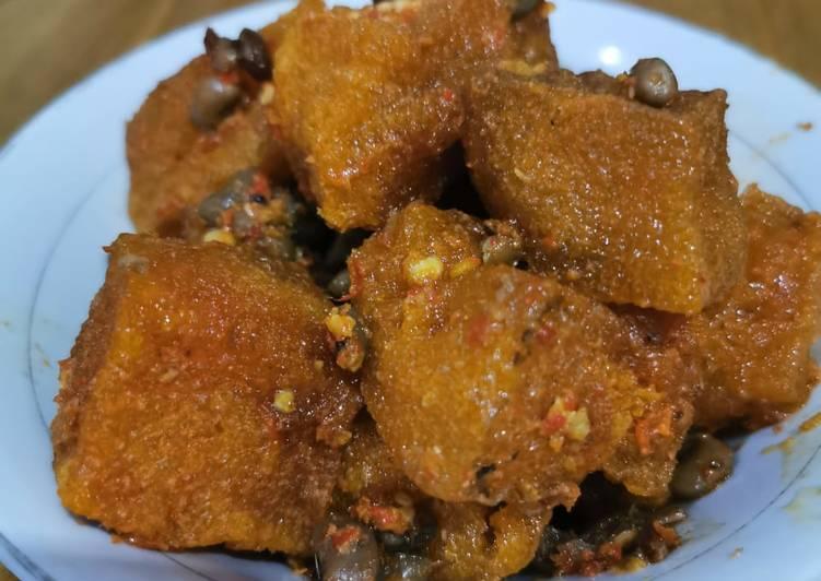 Resep mengolah Sambal goreng krecek