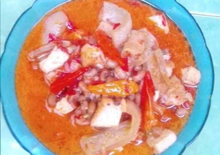 Cara Mudah memasak Sambel goreng krecek lezat
