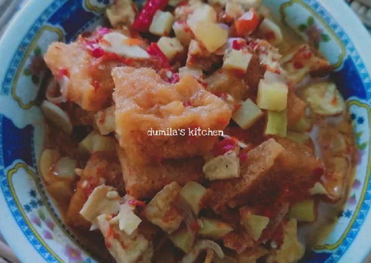 Resep: 67. Sambal goreng kentang tahu & krecek sedap